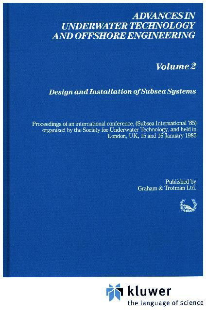 Design and Installation of Subsea Systems als Buch