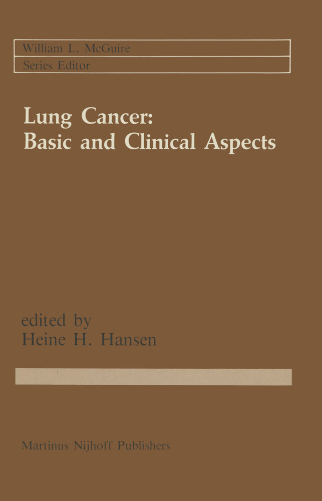 Lung Cancer: Basic and Clinical Aspects als Buch