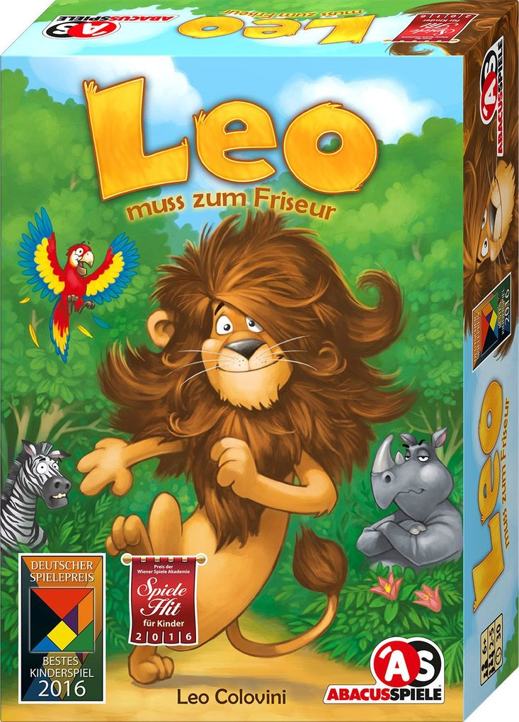 Leo muss zum Friseur
