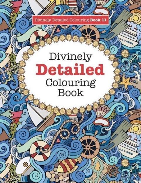 Divinely Detailed Colouring Book 11 als Taschen...