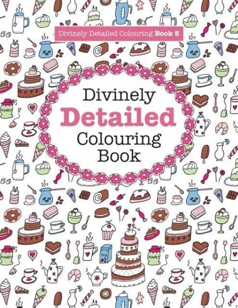 Divinely Detailed Colouring Book 5 als Taschenb...