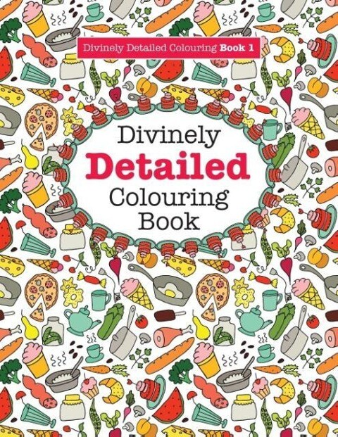 Divinely Detailed Colouring Book 1 als Taschenb...