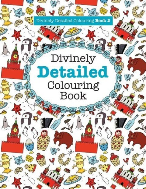 Divinely Detailed Colouring Book 2 als Taschenb...