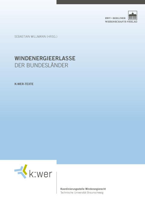 Windenergieerlasse der Bundesländer als Buch von