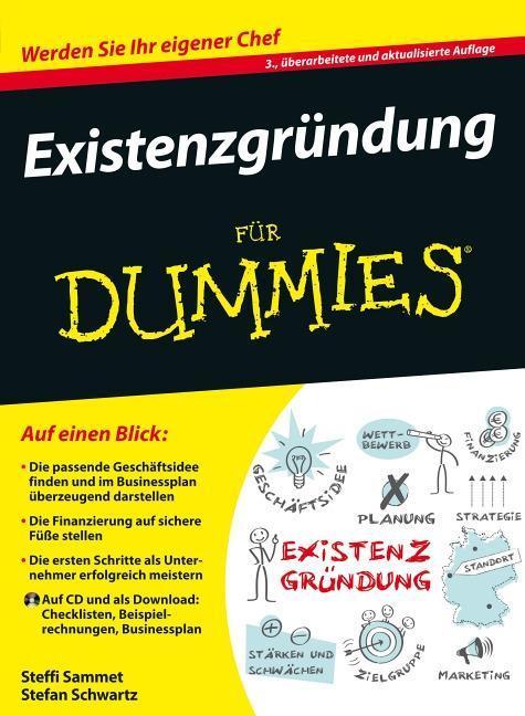Existenzgründung für Dummies als Buch von Stefa...