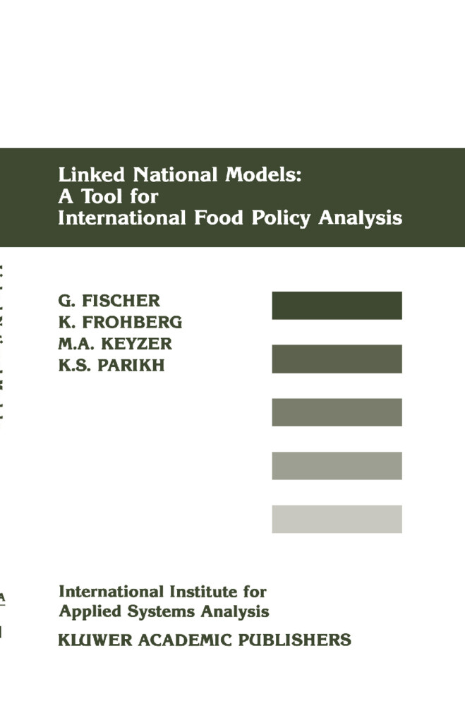 Linked National Models: A Tool For International Food Policy Analysis als Buch