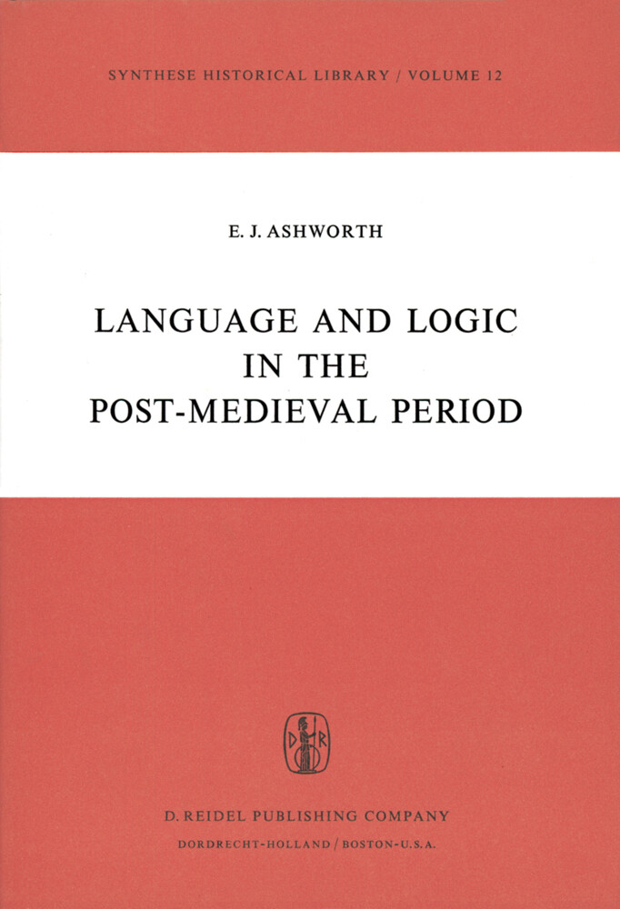 Language and Logic in the Post-Medieval Period als Buch