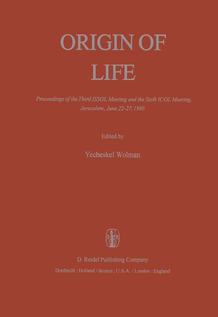 Origin of Life als Buch