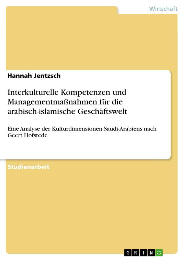 Interkulturelle Kompetenzen und Managementmaßna...