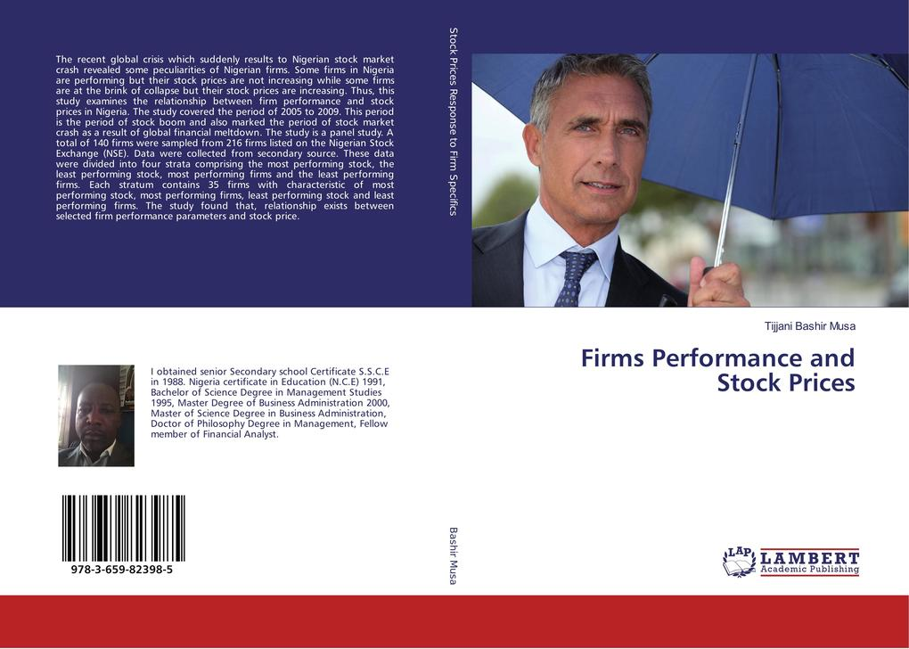 Firms Performance and Stock Prices als Buch von...
