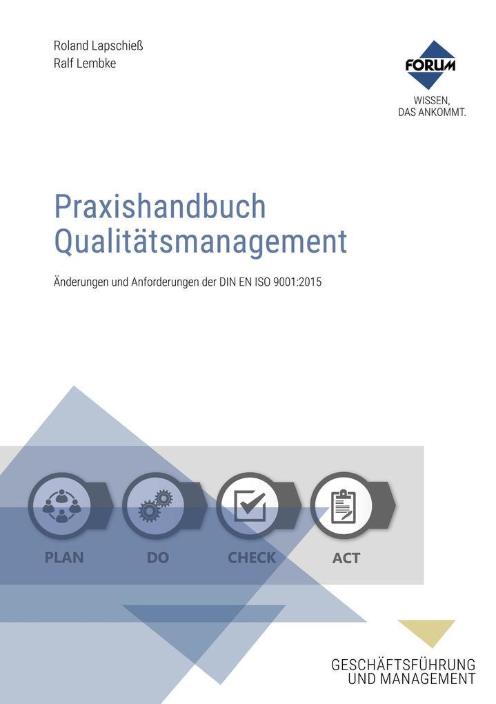 Praxishandbuch Qualitätsmanagement als eBook Do...