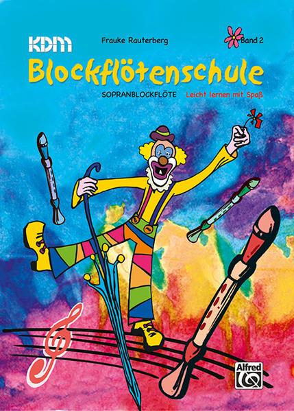 KDM Blockflötenschule, Band 2 als Buch