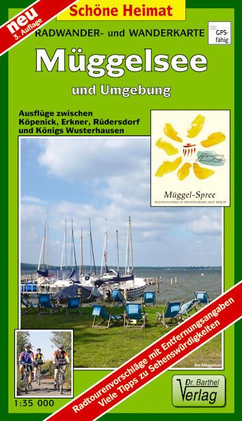 Radwander- und Wanderkarte Müggelsee und Umgebung 1 : 35 000 als Buch