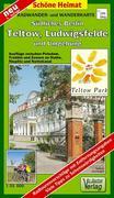 Südliches Berlin - Teltow, Ludwigsfelde und Umgebung 1 : 35 000. Radwander- und Wanderkarte