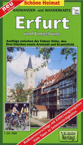 Erfurt und Umgebung 1 : 35 000. Radwander- und ...