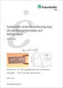 Systematik eines Beschleunigungssensor-Designkonzepts auf MEMS-Basis.