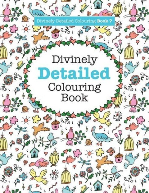 Divinely Detailed Colouring Book 7 als Taschenb...