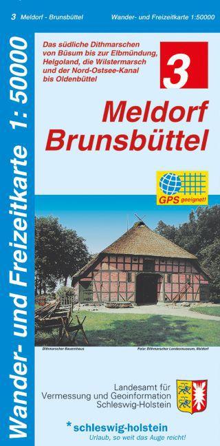 Meldorf - Brunsbüttel 1 : 50 000 als Buch