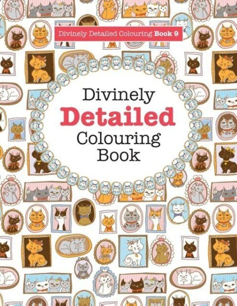 Divinely Detailed Colouring Book 9 als Taschenb...