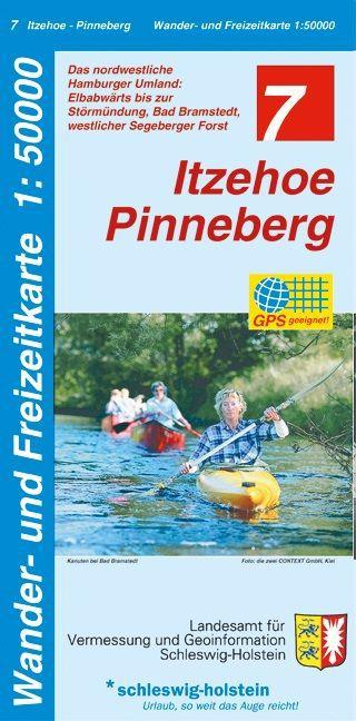 Itzehoe - Pinneberg 1 : 50 000 als Buch