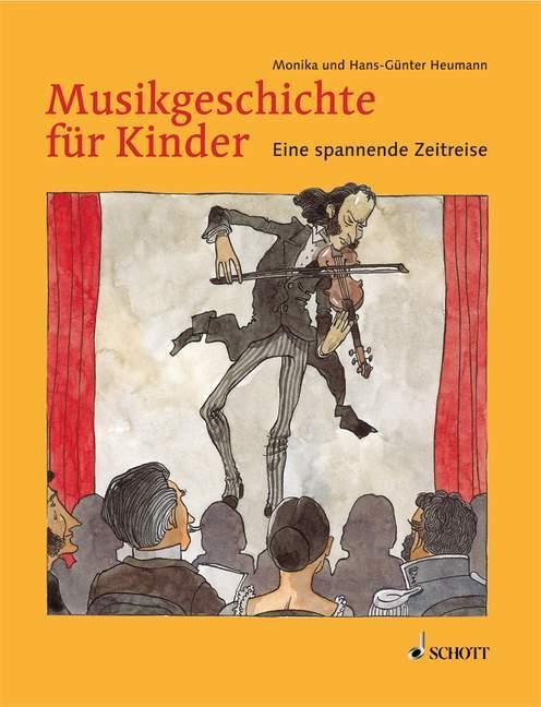 Musikgeschichte für Kinder als Buch