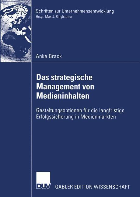 Das strategische Management von Medieninhalten als Buch