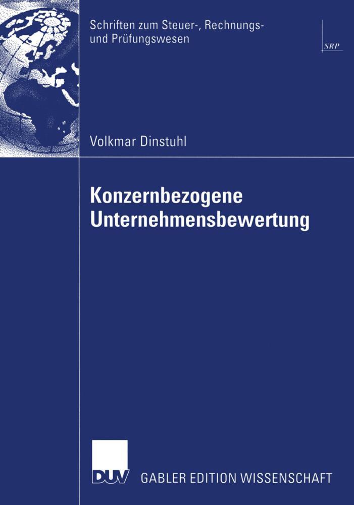 Konzernbezogene Unternehmensbewertung als Buch