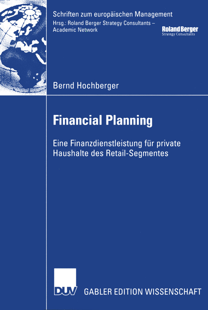 Financial Planning als Buch