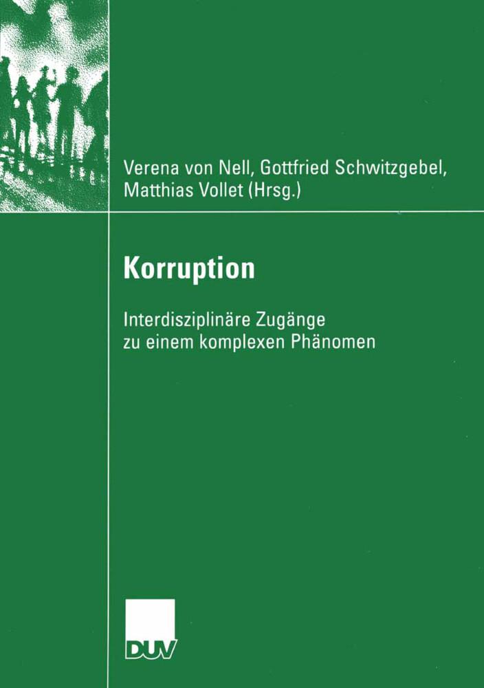 Korruption als Buch
