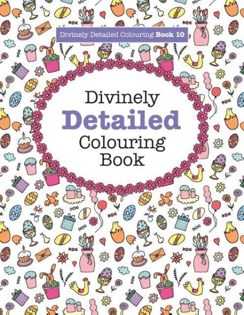 Divinely Detailed Colouring Book 10 als Taschen...