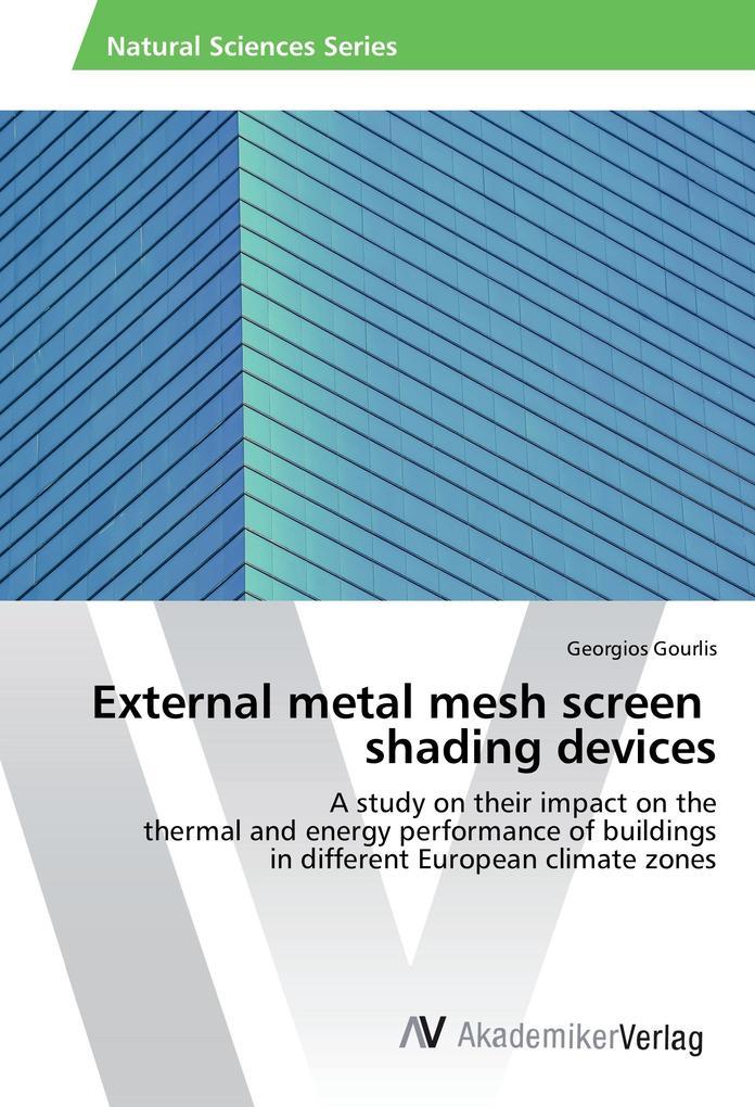 External metal mesh screen shading devices als ...