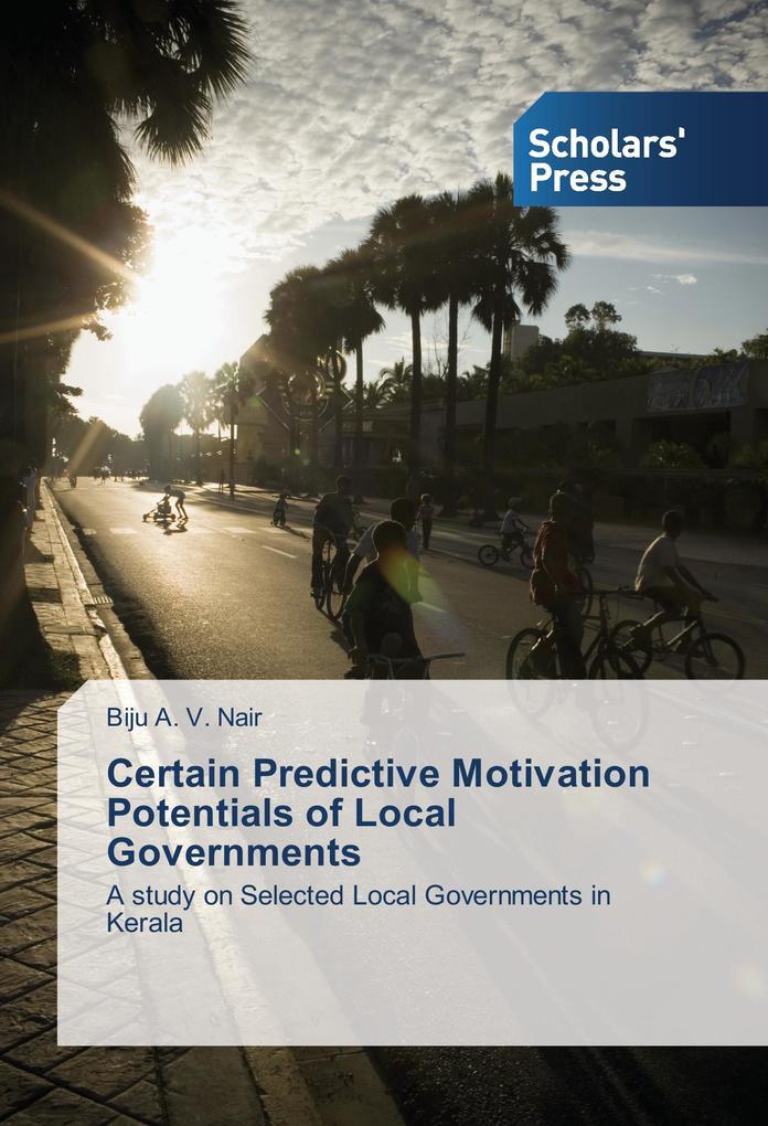 Certain Predictive Motivation Potentials of Loc...