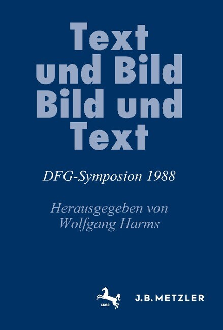 Text und Bild, Bild und Text als Buch von