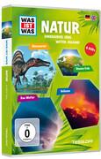 WAS IST WAS DVD-Box: Natur (Dinos, Erde, Wetter, Vulkane)