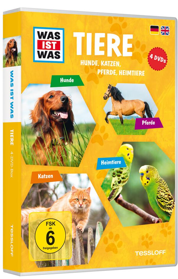 WAS IST WAS DVD-Box: Tiere (Hunde, Pferde, Katz...