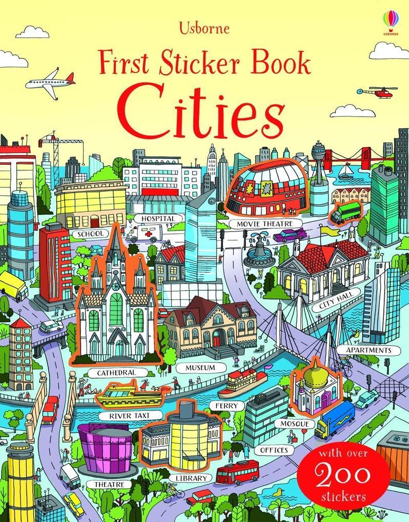 First Sticker Book: Cities als Taschenbuch von ...
