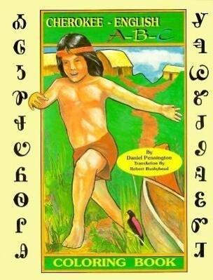 Cherokee A-B-C: Coloring Book als Taschenbuch
