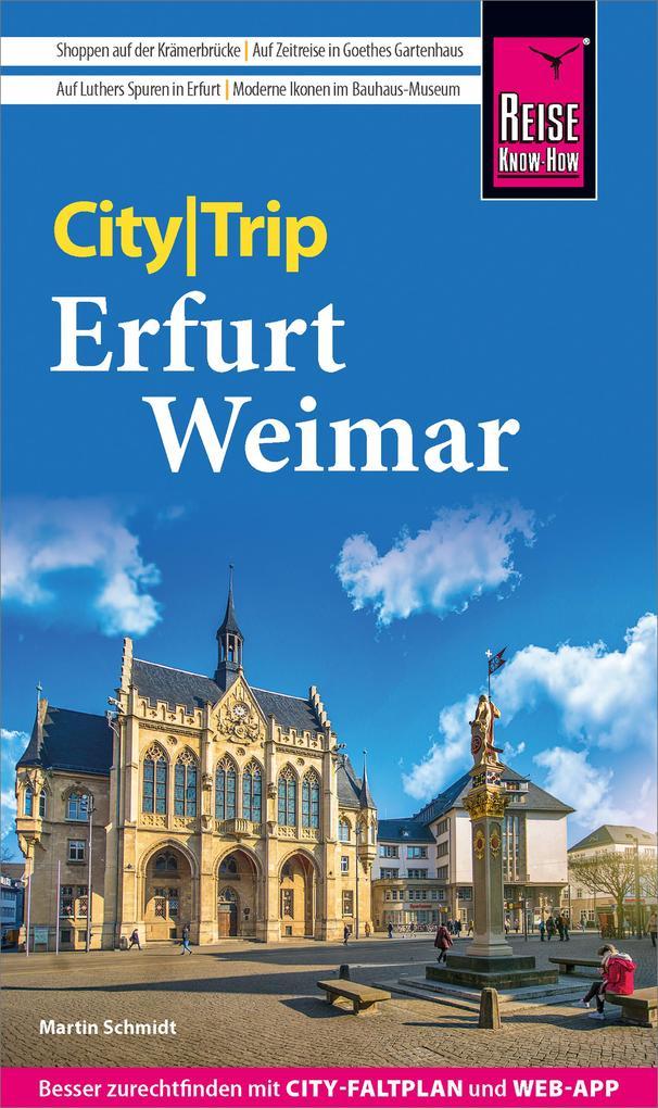 Reise Know-How CityTrip Erfurt und Weimar als e...
