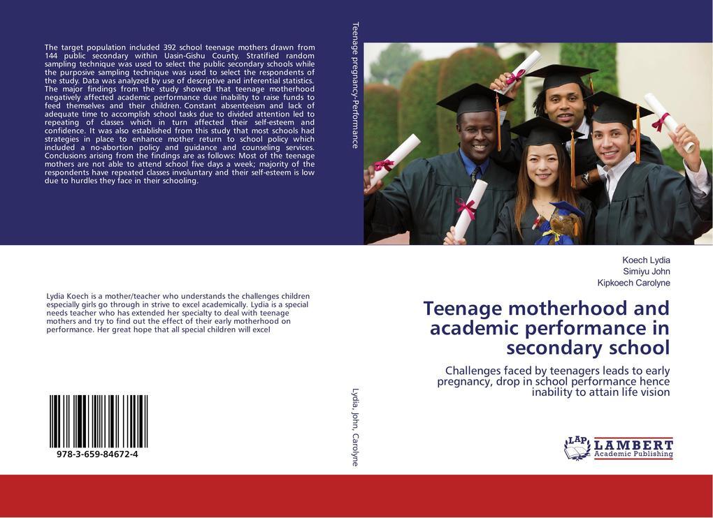 Teenage motherhood and academic performance in ...