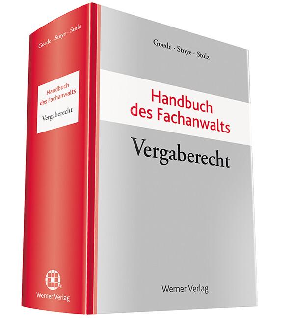 Handbuch des Fachanwalts Vergaberecht als Buch von