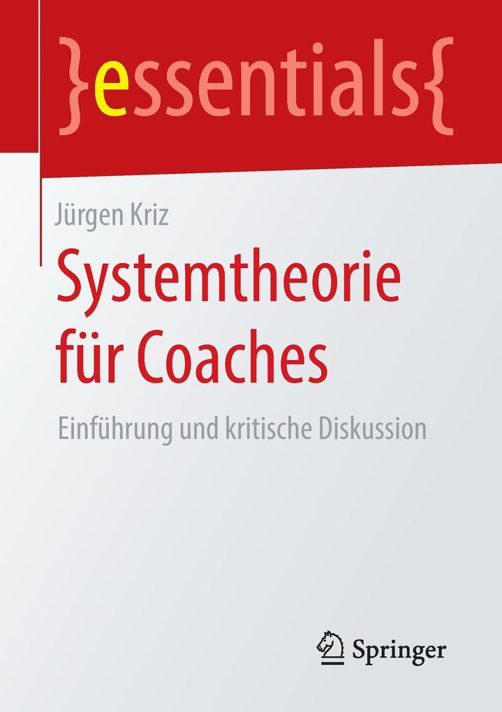 Systemtheorie für Coaches als Buch