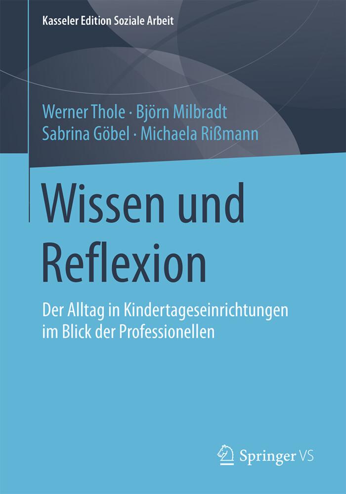 Wissen und Reflexion als Buch von Werner Thole,...