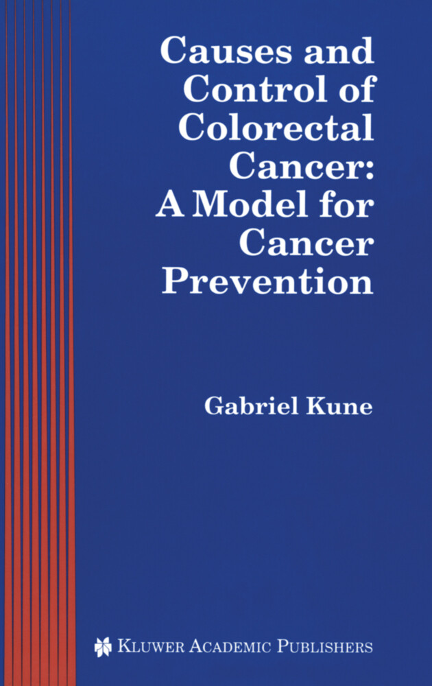 Causes and Control of Colorectal Cancer als Buch