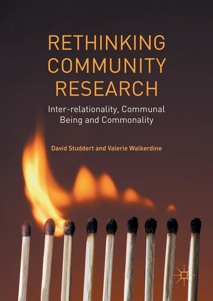 Rethinking Community Research als Buch von Davi...