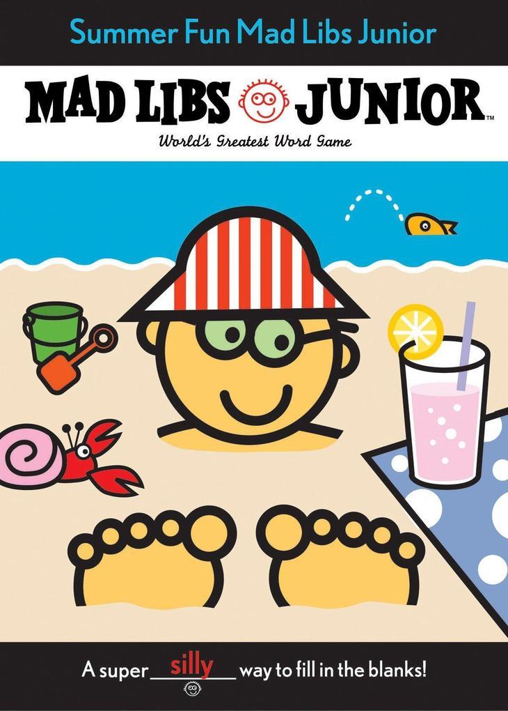 Summer Fun Mad Libs Junior als Taschenbuch