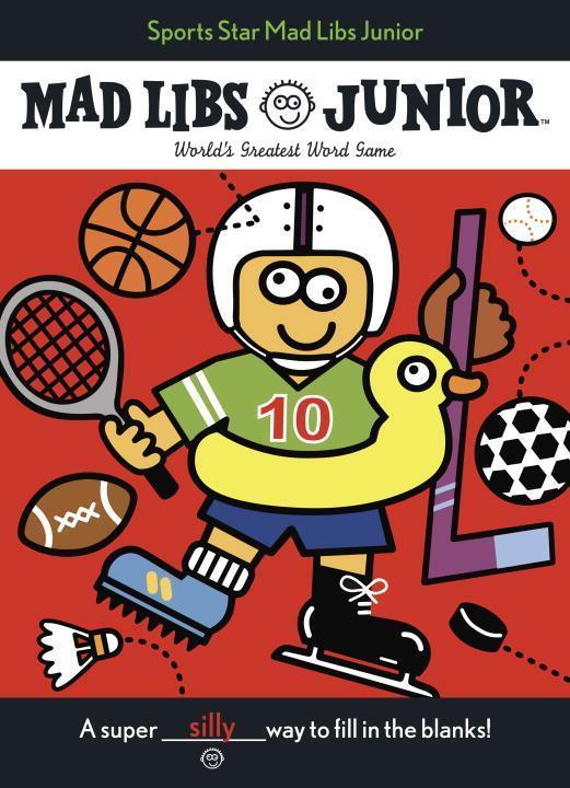 Sports Star Mad Libs Junior als Taschenbuch