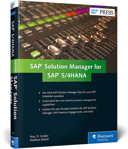SAP Solution Manager for SAP S/4HANA als Buch v...