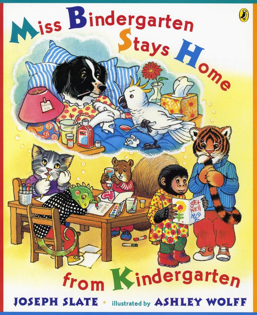 Miss Bindergarten Stays Home from Kindergarten als Taschenbuch