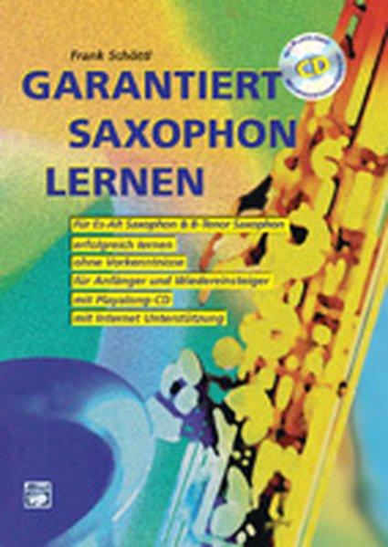 Garantiert Saxophon lernen als Buch