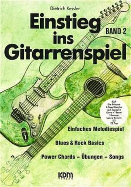 Einstieg ins Gitarrenspiel 2 als Buch